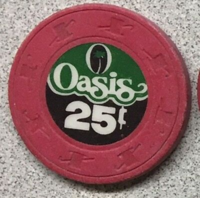 Oasis Casino $.25 chip from California