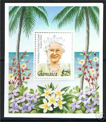 Jamaica 1995 Queen Mothers B/day M.S.SG883 MNH