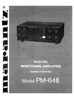 marantz pm8200 integrated amplifier owners manual