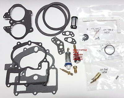 Carby Rebuild Kit Suits Mercruiser Rotchester 2 Barell Carb O/haul Kit T7097