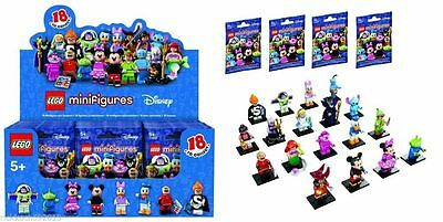 NEW Complete Set of Factory Sealed LEGO DISNEY MINI FIGURES 18 Characters 71012