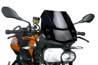 Puig Black Racing Screen Color 9591N for Benelli Tornado 302 R 14-18