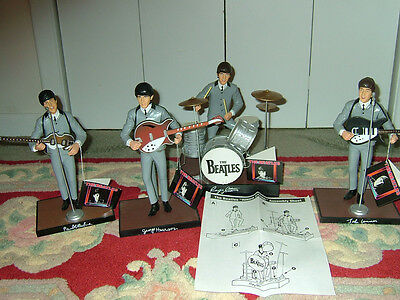 Beatles Complete Set Of Apple Hamilton Dolls From 1991