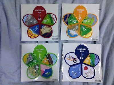 23rd World Scout Jamboree 2015 Complete Subcamp badges