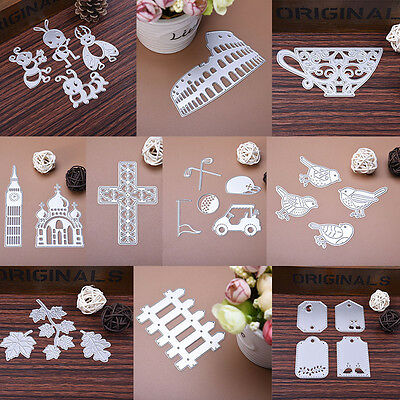 Metal Cutting Dies Stencil Scrapbook Album Paper Card Embossing DIY Crafts