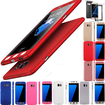 For Samsung Galaxy S7 Edge S8 Clear Soft Silicone Case Cover Jelly Bumper Rubber