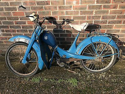 Moped NSU quickly quickley for restoration barn find NO RESERVE