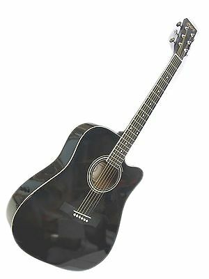 "BRAND NEW Full Size 41"" Steel String Acoustic Guitar 55 Years Guitar Maker"
