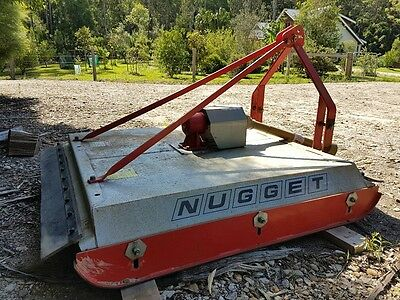 Howard Nugget 4 foot Slasher, in excellent working condition