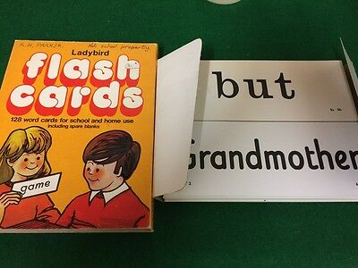 Vintage Ladybird Flashcards from 1977 VGC - Collectable - RARE