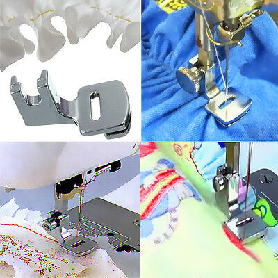 New Ruffler Hem Presser Foot For Domestic Multifunction Sewing Machine Household