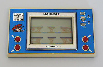 Nintendo GAME AND WATCH - Manhole - Excellent Condition