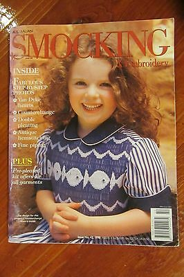 Australian Smocking & Embroidery - Issue 42