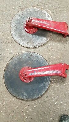 2 plough discs for tractor