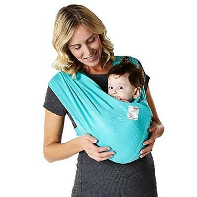 Baby Ktan Breeze Baby Carrier, Teal, Large Soft Machine Washable Baby Ktan New