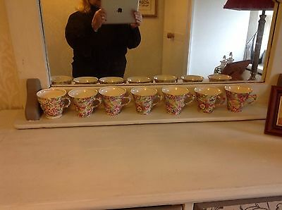 Chintz ware by James Kent x7 cups