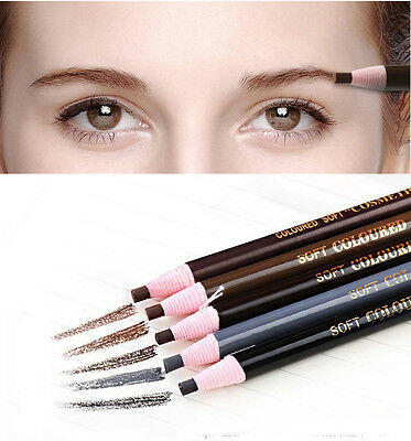 Waterproof Microblading Permanent Eyebrow Lip Pen Pencil Cosmetic Positioning