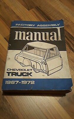 1967-72 Chevrolet truck factory assembly manual