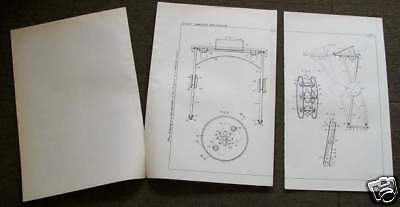 Aircraft Tables & Stands Patent. Boac.1948