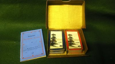 1933 wills cigarettes tobacco boxed playing cards and booklet