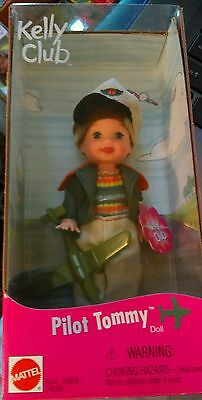 """FREE Shipping RARE Retired """"PILOT TOMMY"""" KELLY CLUB BABY BROTHER OF BARBIE NEW"""