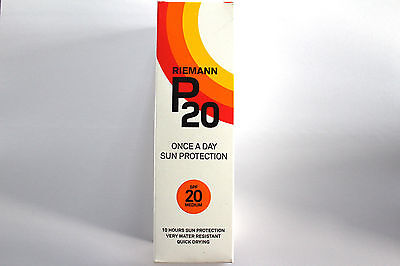Rieman P20 Once A Day Sun Protection - SPF 20 Medium - 100ml
