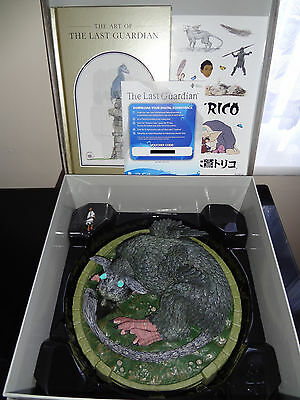 The Last Guardian Collector's Edition Statue + Stickers + Art Book + Soundtrack