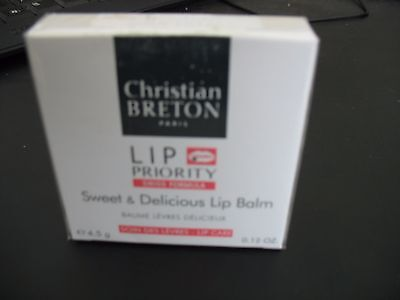CHRISTIAN BRETON Sweet & Delicious Lip Balm 4.5g new in original package RRP £35