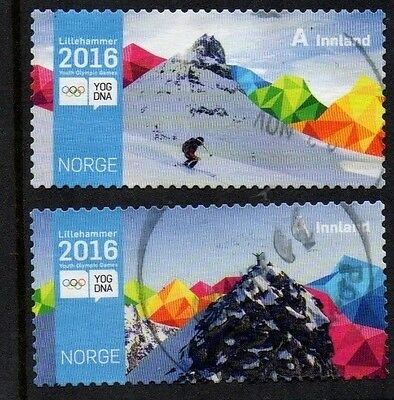 Norwegian : 2016 Lillehammer Youth Winter Games  F/u ( Two Value Set )