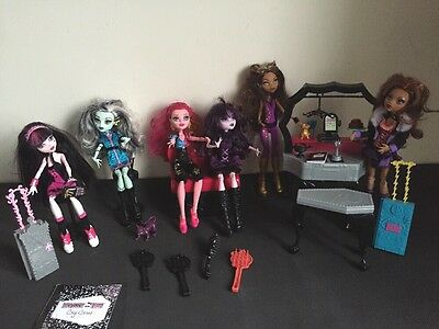 Monster High Large Doll Bundle And Accessories