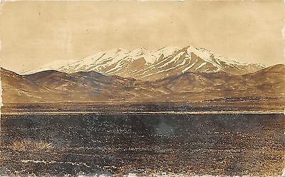 View of Mountain North of Soldier Idaho (See Note!)~1907 RPPC-Postcard