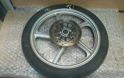 APRILIA SCARABEO 125cc 2003 FRONT WHEEL AND TYRE AND BRAKE DISCS / PARTS / BREAK