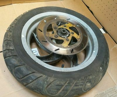 Piaggio New Skipper 125 2000 Front Wheel And Tyre And Brake Disc / Parts / Break