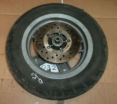 PIAGGIO ZIP 100cc 2006 FRONT WHEEL AND TYRE AND BRAKE DISC/ PARTS / OE / BREAKIN