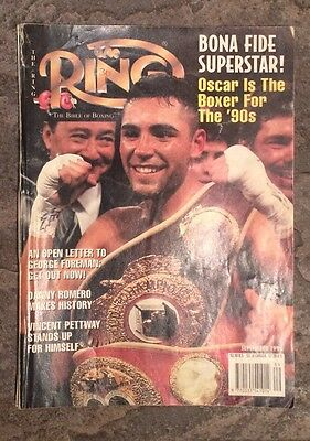 The Ring Boxing Magazine September 1995 Edition