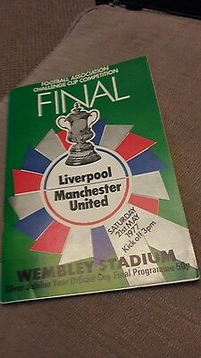 Liverpool v Manchester Utd - FA Cup Final 1977