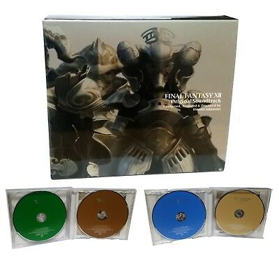 Final Fantasy XII FF 12 Original Soundtrack 4 CDs Box Set  Square Enix Rare