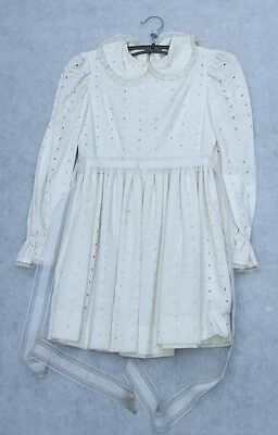 Vintage Childs Dress : Christening / Bridesmaid Dress