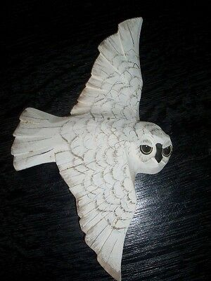Wooden Owl Collectible Ornament
