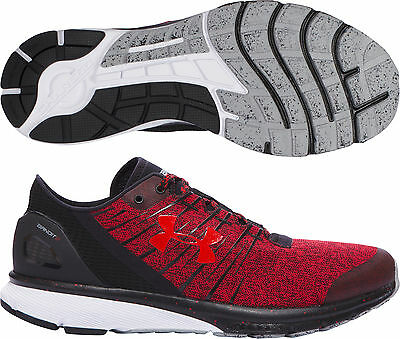 Under Armour Charged Bandit 2 Mens Running Shoes - Red