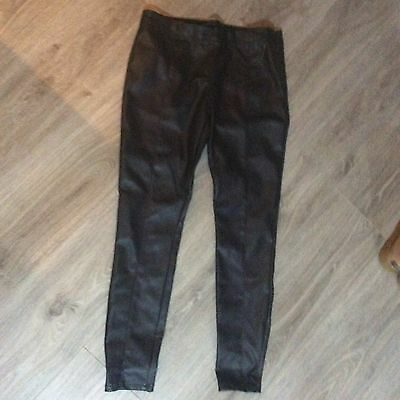 Next Leather Look Trousers