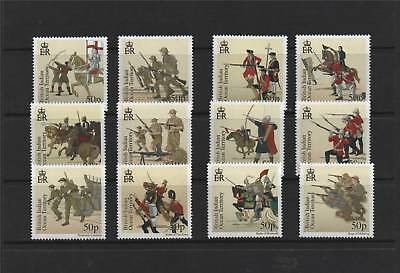 British Indian Ocean Territory. 2010 Great Battles 12v SG 439/50 MNH