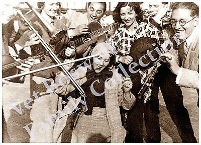 Boswell Sisters Jamming w/The Ramblers 1933 5x7 matted to 8x10 T30