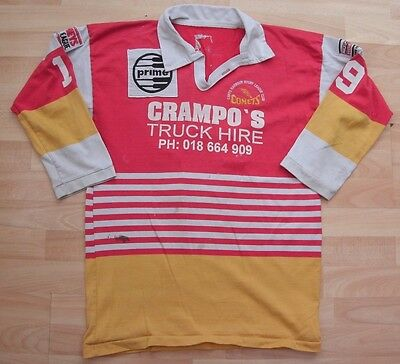 Coffs Harbour Vintage Rugby League Shirt Jersey Top Large Adult #19