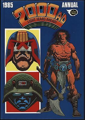 2000Ad Annual 1985 Alan Moore Abc Warriors, Ian Gibson Judge Dredd,