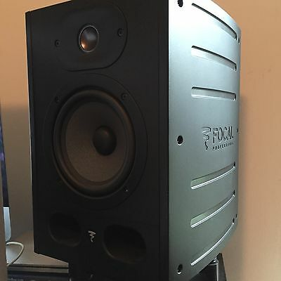 Focal Alpha 50 Active Studio Monitor Speakers (Pair) and ISO Acoustics Stands