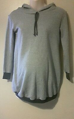 Maternity Hoodie Hooded Top Size 10 Bluebelle Maternity