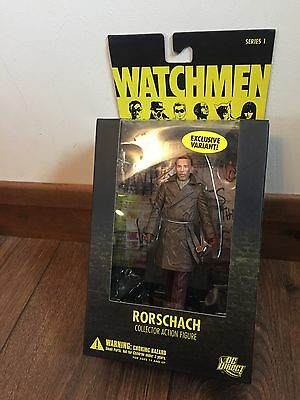 Watchmen DC Direct, Series 1 Rorschach, Exclusive Variant