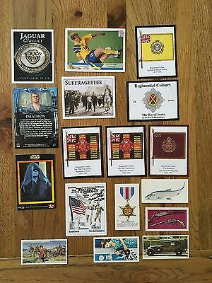 Mixed Lot of Cigarette/Tea & Advertising Cards Over 100 cards