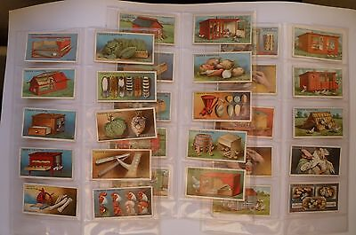 Ogdens Cigarette Cards Poultry Rearing 2Nd Series Of 25
